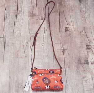 Dooney & Bourke MLB Houston Astros crossbody bag